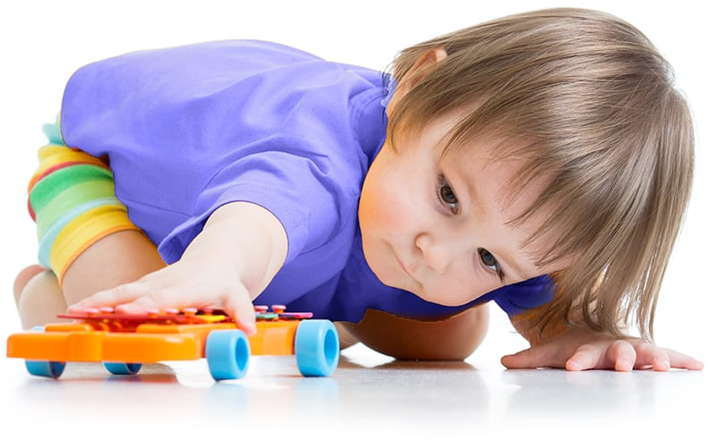 toddler learning with toys are preschool